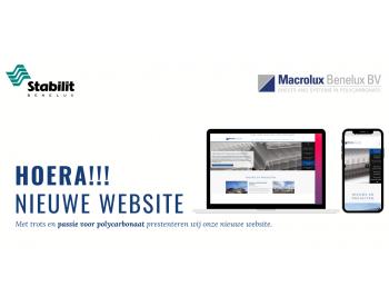 Nieuwe website Macrolux Benelux Live!